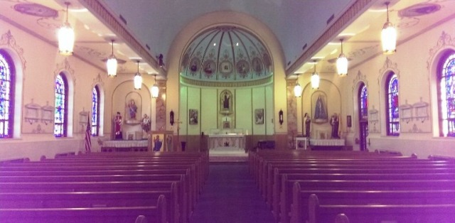 Our Lady of Mount Carmel - interior