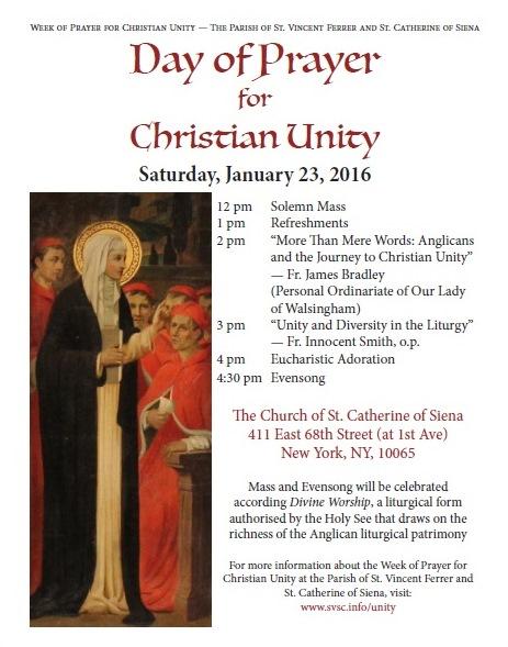 Ordinariate Mass etc in NYC 2016